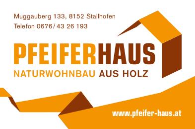 Pfeiferhaus Bautafel